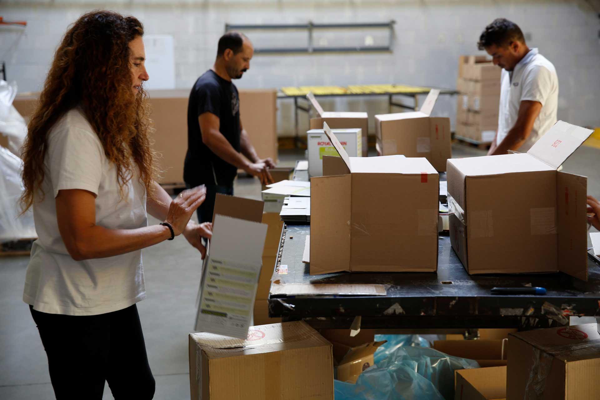 Co-packing de marchandises - Solutions logistiques WAYLOG