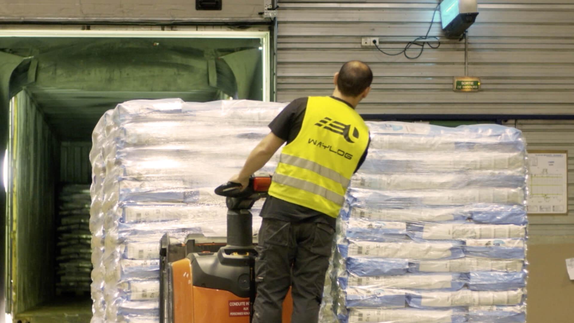 Expédition de marchandises avec WAYLOG Logistique
